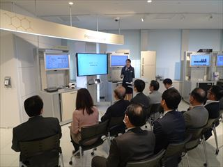 東商の活動【サービス分科会・観光分科会】NTT東日本・品川ショールーム「NTT EAST SOLUTION SQUARE」視察会を開催しました